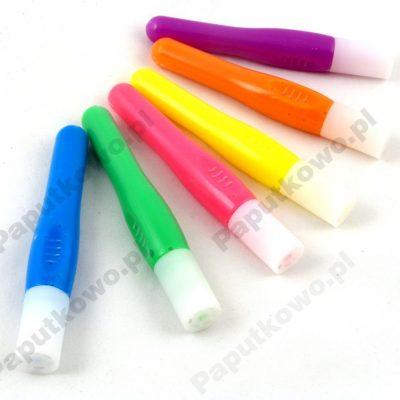 Farby do ubrań niespieralne, tęczowe Flamingo 6 kolorów
