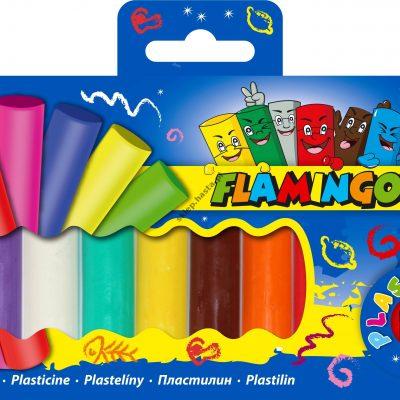 Plastelina Flamingo 10 kolorów