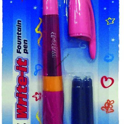 Pióro na naboje Write-it Flamingo