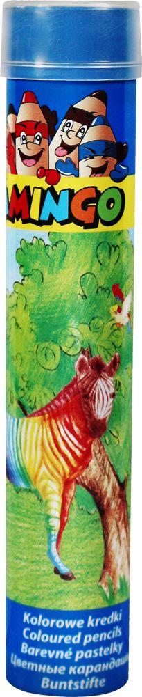 Kredki ołówkowe Artist Flamingo 12 kolorów sześciokątne w metalowej tubie
