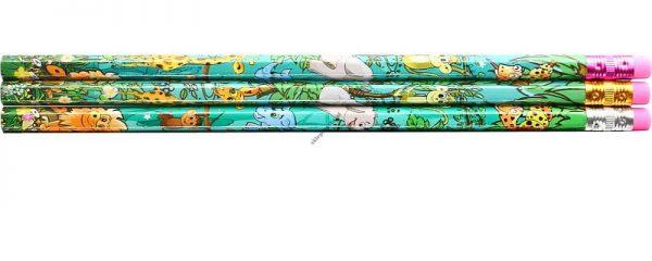 Ołówki Flamingo Safari 10 sztuk