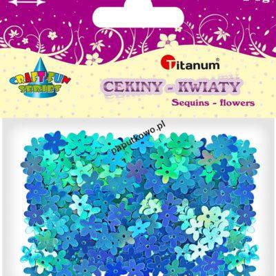 Cekiny Titanum Craft-fun Craft-Fun Series kwiatki (KK104)