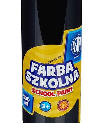 Farby plakatowe Astra kolor: czarny 500 ml 1 kol.