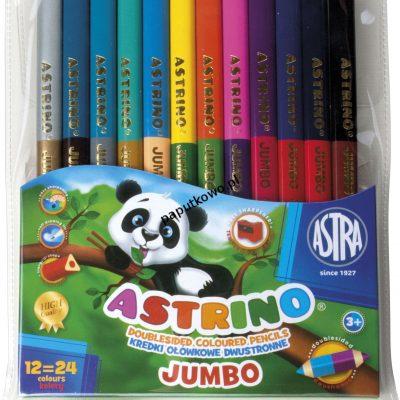 Kredki ołówkowe Astra Astrino 24 kol. (312116003)