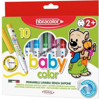 Flamaster Fibracolor baby color 10 kol.