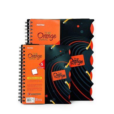 Kołozeszyt (kołobrulion) Mintra The Orange Wave A4+ 120k. krata