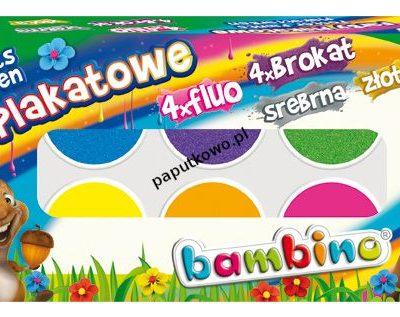 Farby plakatowe St.Majewski kolor: mix 20 ml 10 kol. (5903235001956)