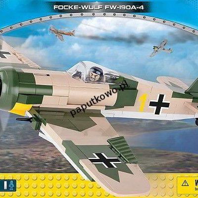 Klocki plastikowe Cobi Small Army Myśliwiec Focke-Wulf Fw 190 A-4 (5514)
