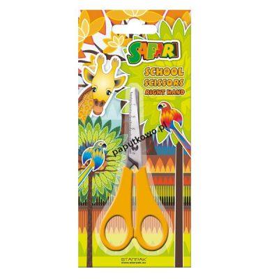 Nożyczki praworęczne Starpak safari 13,5 cm (229903)