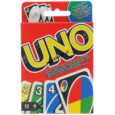 Gra karciana Mattel Uno (W2085)