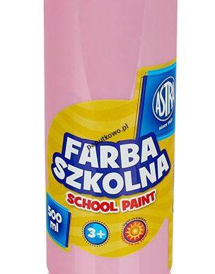 Farby plakatowe Astra kolor: różowy 500 ml 1 kol. (5900263240234)