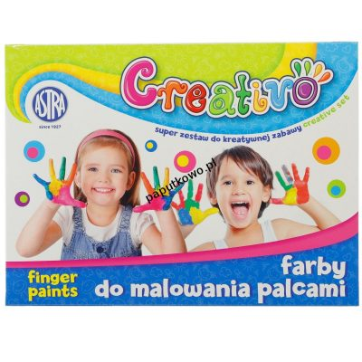 Farby do malowania palcami Astra Creativo 50 ml 4 kol. (320112002)