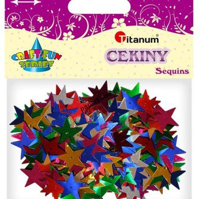 Konfetti Titanum Craft-fun Craft-Fun Series gwiazdki (BS033)