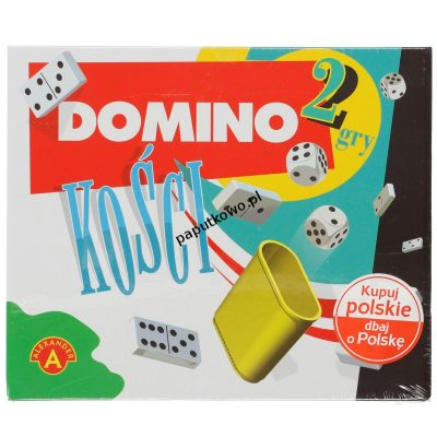 Gra logiczna Domino Alexander domino - kości