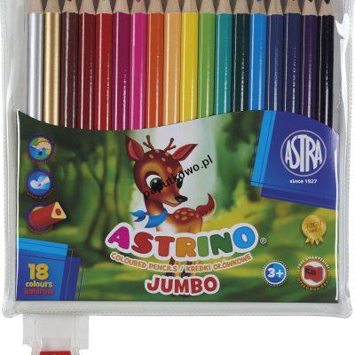 Kredki ołówkowe Astra Astrino 18 kol. (312115005)