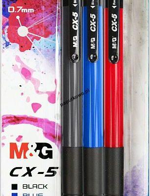 Długopis M&G CX-5, mix wkład 0,7 mm (ABP88475)
