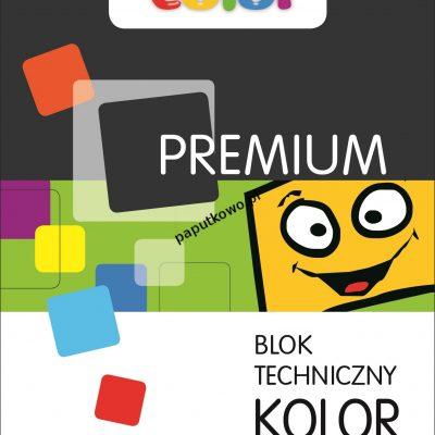 Blok techniczny Happy Color Premium kolorowy A3 220g 10k 297x420 mm (3722 2040-09)