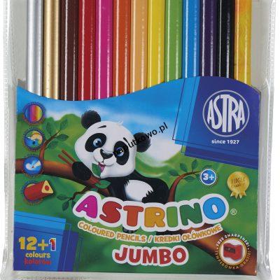Kredki ołówkowe Astra Astrino 12 kol. (312115004)