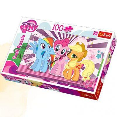 Puzzle Trefl My Little Pony Przyjaciółki 100 el. (16228)