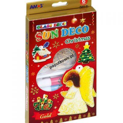 Farba do malowania na szkle Amos Christmas 6 kol. (SD10P06-CH)