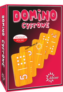 Gra logiczna Domino Abino cyfrowe
