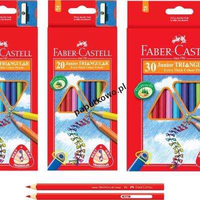Kredki ołówkowe Faber Castell 10 kol.