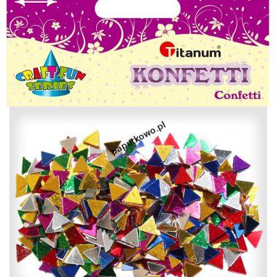 Konfetti Titanum Craft-Fun Series Trójkąty mix kolorów