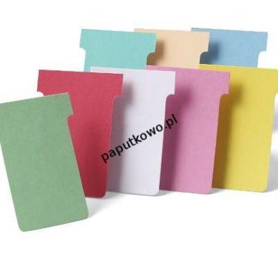 Zakładka indeksująca Nobo T-card do planera 100k 60x85 mm