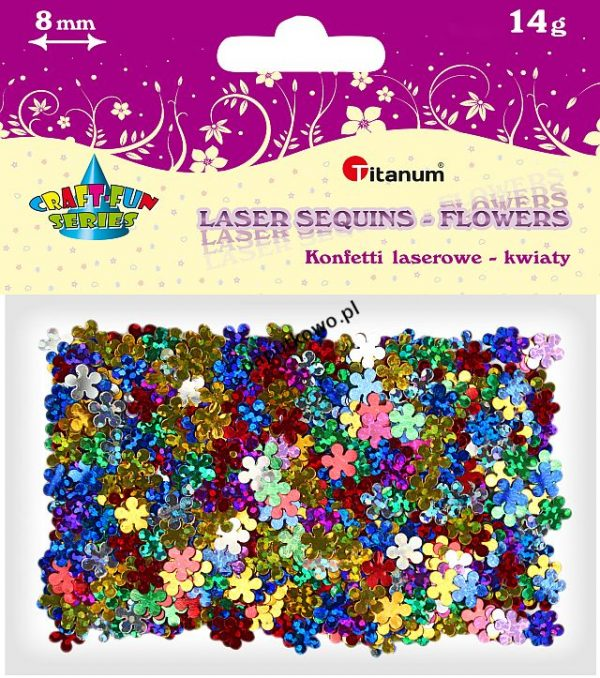 Konfetti Titanum Craft-fun Craft-Fun Series kwiatki (CK068)