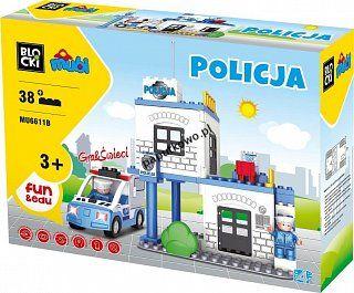 Klocki plastikowe Icom Mubi policja (MU6611B)