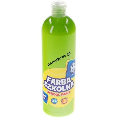 Farby plakatowe Astra szkolne kolor: limonkowy 250 ml 1 kol.