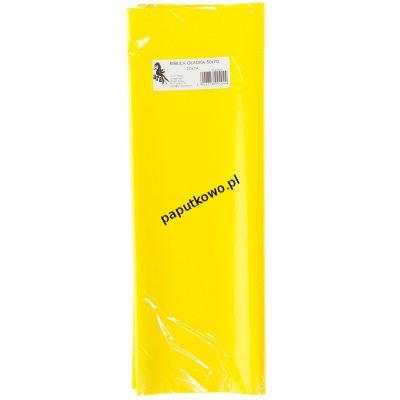 Bibuła gładka żółta gładka żółta 700 mm x 500 mm (04)
