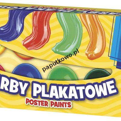 Farby plakatowe Astra kolor: mix 20 ml 10 kol. (301115004)