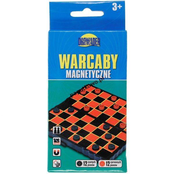 Gra logiczna Szachy Dromader WARCABY (130-00576)
