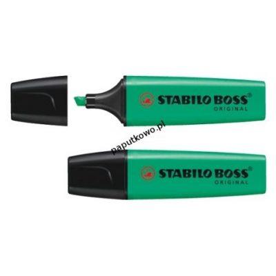 Zakreślacz Stabilo, turkusowy wkład 2,0-5,0 mm