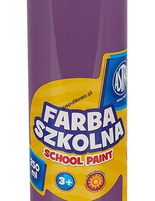 Farby plakatowe Astra szkolne kolor: śliwkowy 250 ml 1 kol.