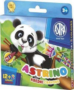 Kredki świecowe Astra Astrino 14 kol. (316115001)