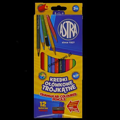 Kredki ołówkowe Astra Vision 12 kol. (312110002)