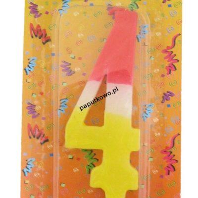 Świeczka urodzinowa Arpex cyfry (D9905-4)