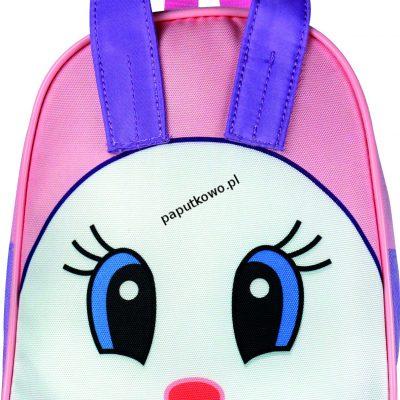 Plecak dziecięcy Tiger Family 100g 235x190x80 mm wzór: różowy królik (117S)