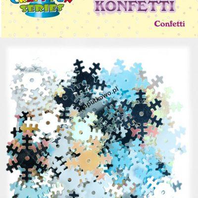 Konfetti Titanum Craft-fun Craft-Fun Series płatki śniegu (BR2441)