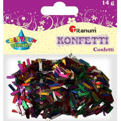 Konfetti Titanum Craft-Fun Series Paski mix kolorów