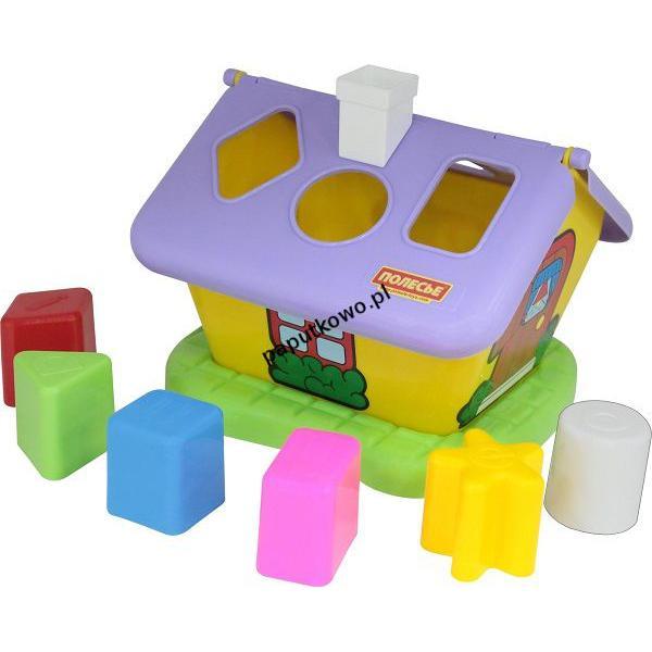 Zabawka edukacyjna Wader domek ogrodnika sorter kształty (3354)