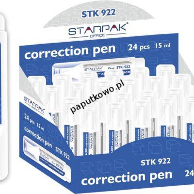 Korektor w długopisie (piórze) Starpak 15 ml (223057)