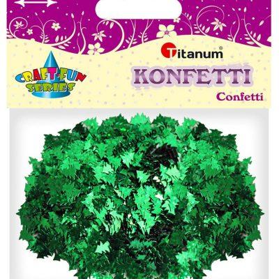Konfetti Titanum Craft-Fun Series Choinki zielone