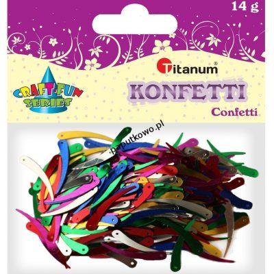 Konfetti Titanum Craft-Fun Series Kość słoniowa mix kolorów