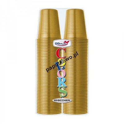 Kubek jednorazowy Dopla złoty 200 ml 200 ml (K200ZL)
