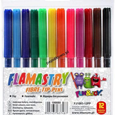 Flamaster Fun&Joy 12 kol. (FJ1003-12PP)
