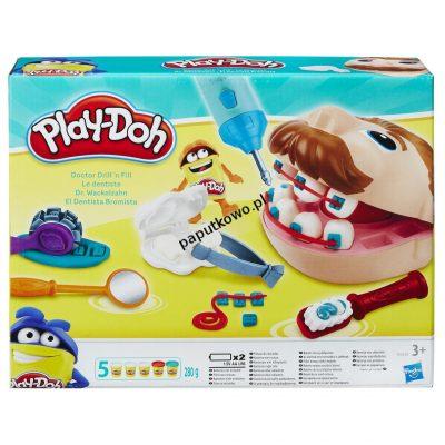 Ciastolina Playdoh 3 kol. dentysta 280g