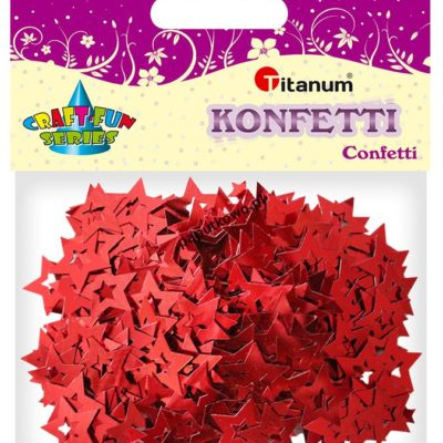 Konfetti Titanum Craft-fun Craft-Fun Series gwiazdki (BS044)